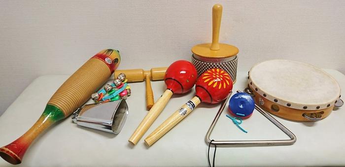 小物 打楽器類