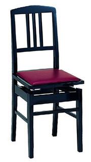 背付きピアノ椅子/コンサートピアノ椅子